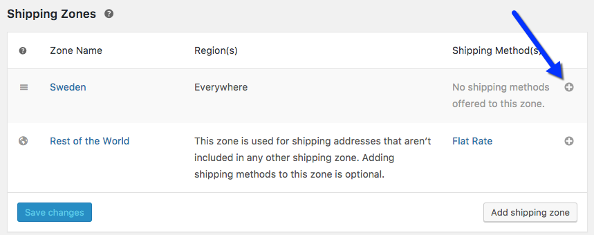 Add shipping method