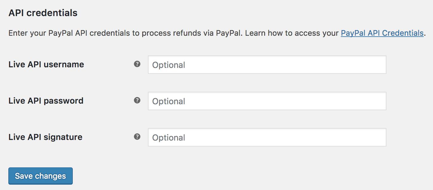PayPal Standard - WooCommerce Docs