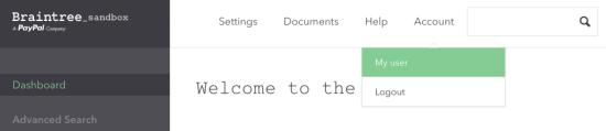 WooCommerce Braintree Get API Keys 1