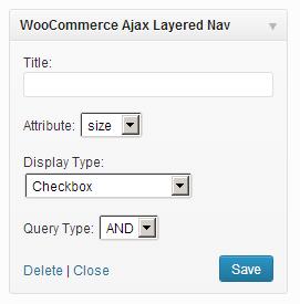 Widgets Checkbox ‹ WordPress — WordPress