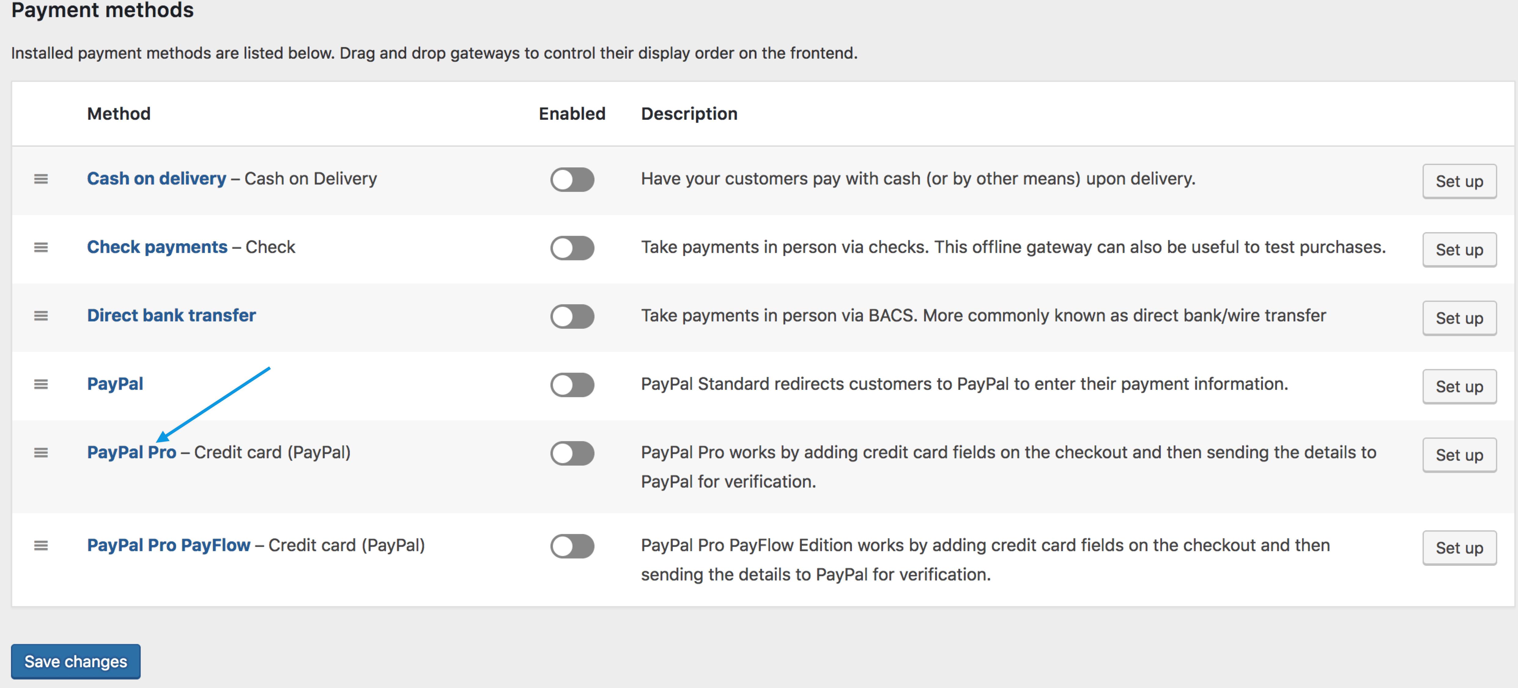 PayPal Pro - WooCommerce Docs