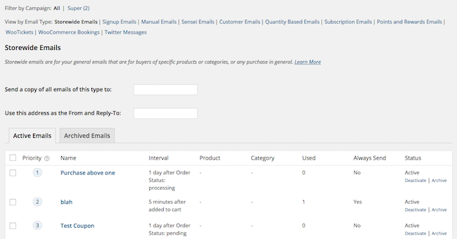 purchase order follow up template  follow-up-main-view - WooCommerce Docs