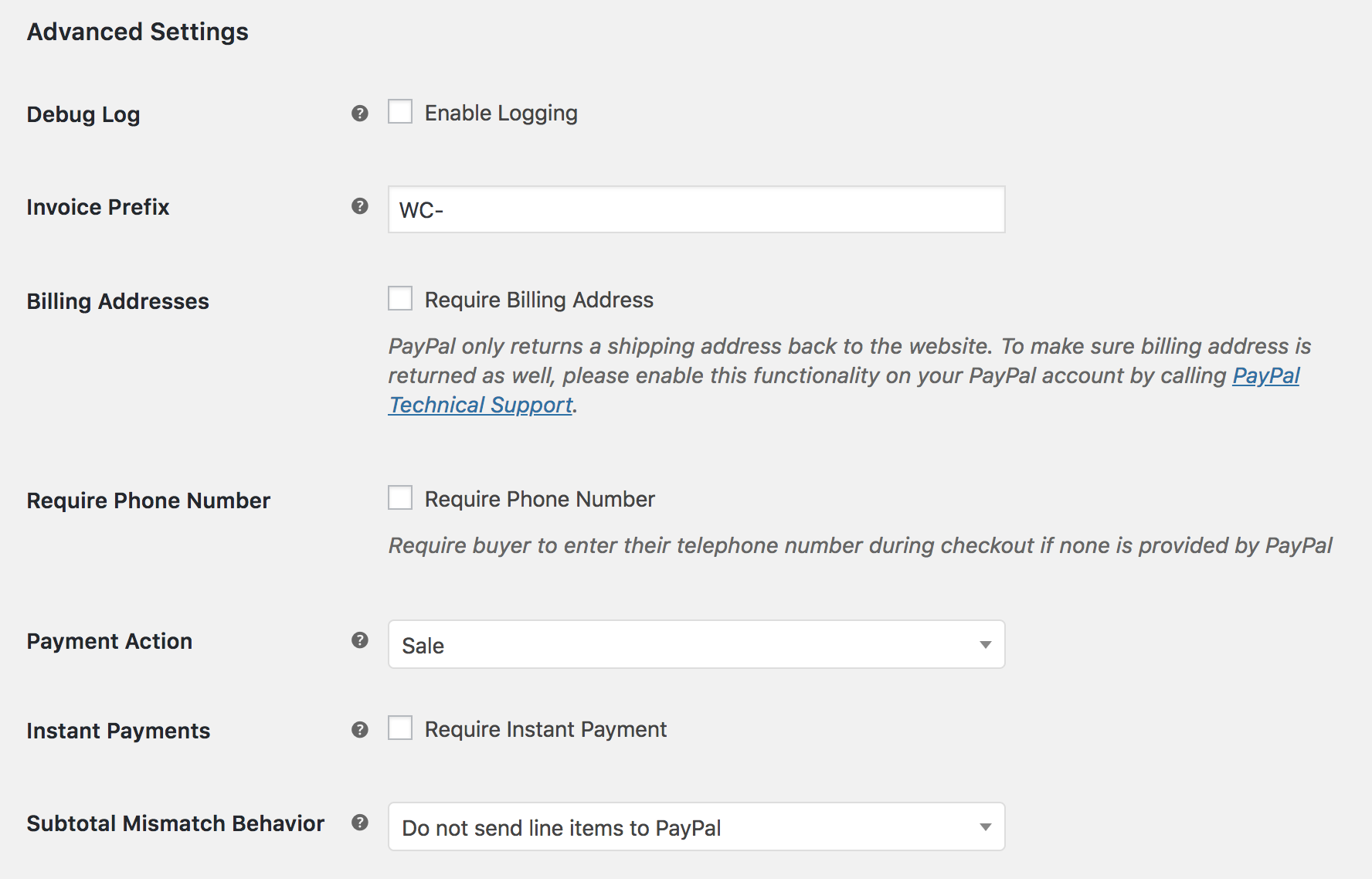 PayPal Checkout WooCommerce Docs - How to send invoice through paypal app