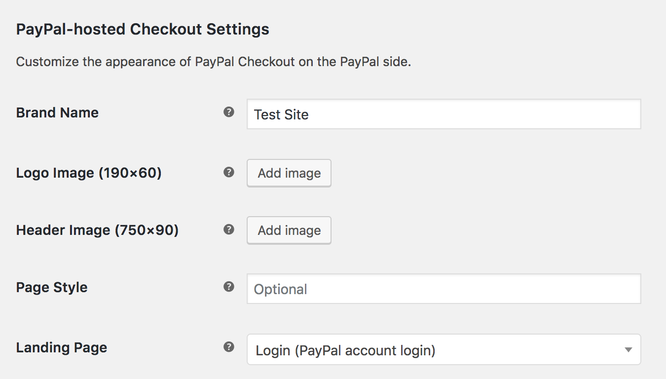 PayPal Checkout - WooCommerce Docs