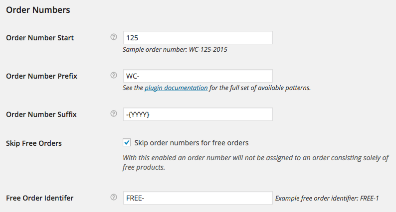 Sequential Order Numbers Pro - WooCommerce