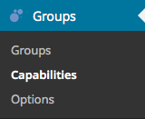 Groups > Capabilities