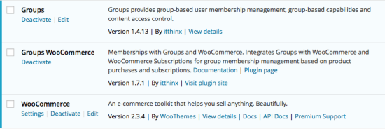 Groups WooCommerce Plugins