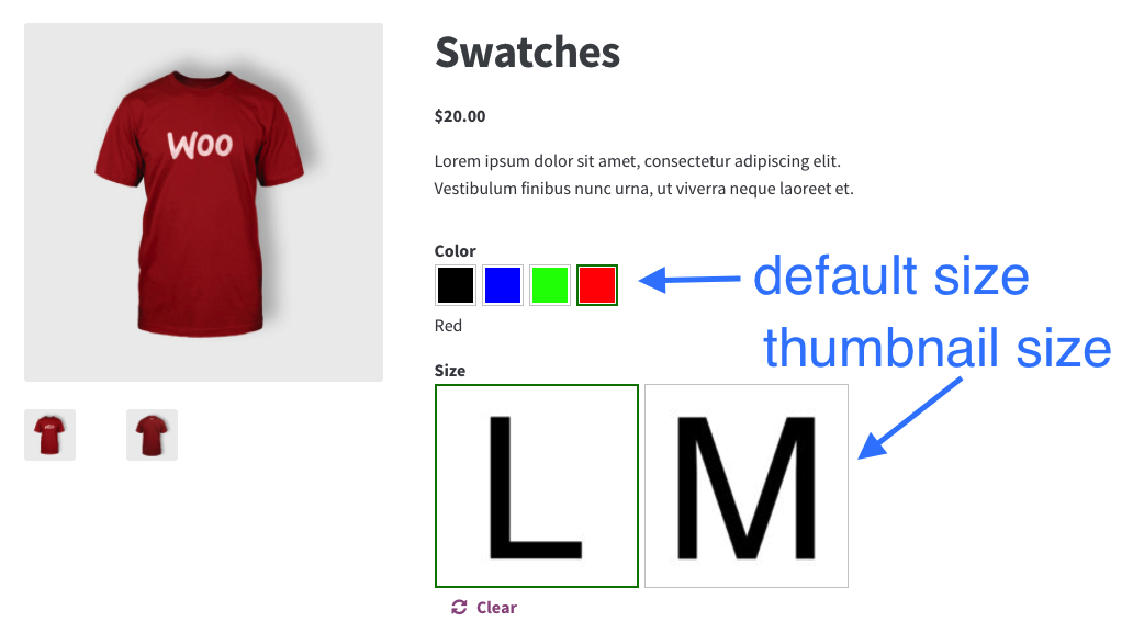 WooCommerce Variation Swatches and Photos - WooCommerce Docs