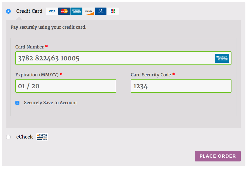 WooCommerce Elavon Converge Enhanced Checkout