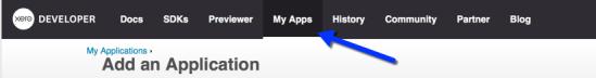 My Apps tab