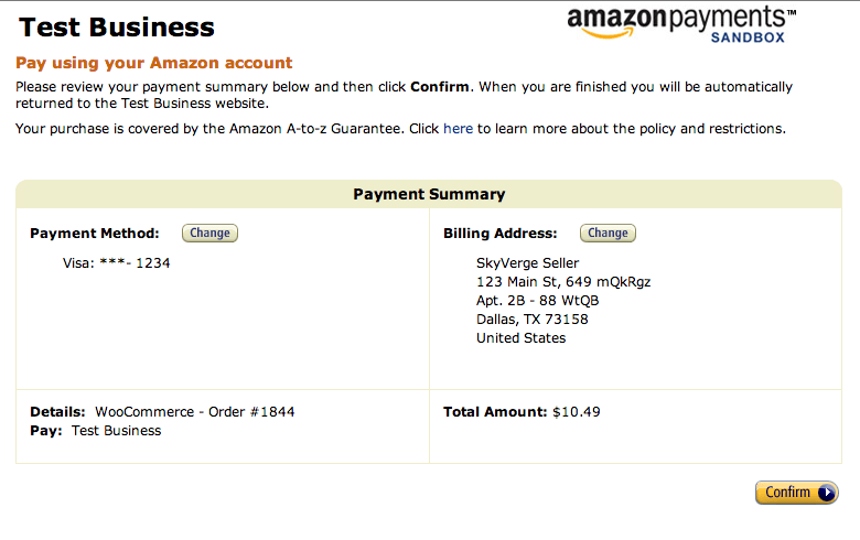 Docs - Woocommerce-amazon-simple-pay-checkout-walkthrough-3 Woocommerce-amazon-simple-pay-checkout-walkthrough-3 Woocommerce - Woocommerce