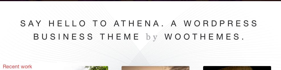 Athena Intro Message