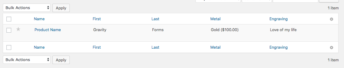 WooCommerce Gravity Forms Product Add-Ons - WooCommerce Docs