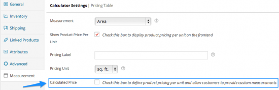 WooCommerce Measurement Price Calculator Mode Toggle