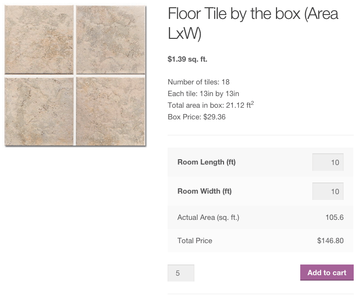 Measurement price calculator woocommerce How to calculate room size in square feet