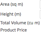 WooCommerce measurement price calculator unit labels