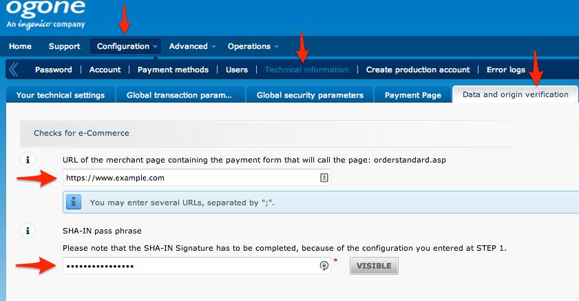 WooCommerce Ogone Payment Gateway - WooCommerce Docs
