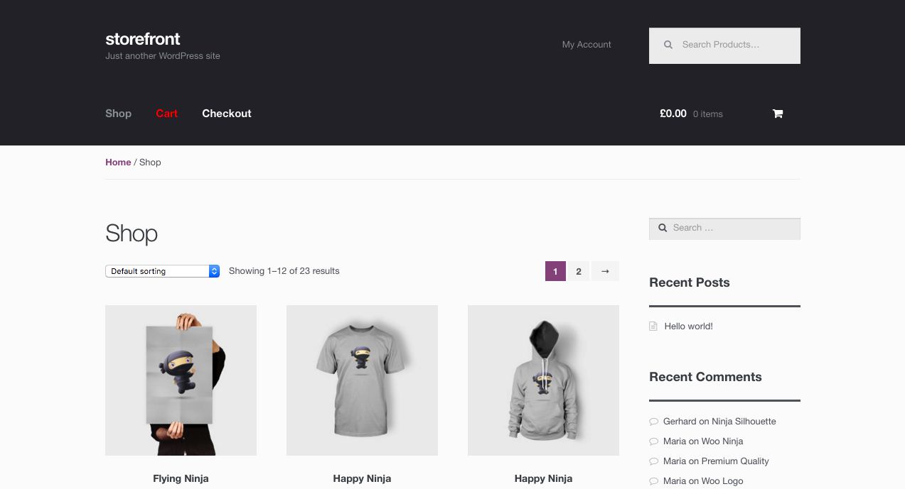 Changes after applying custom CSS