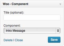 Woo-Component-Widget