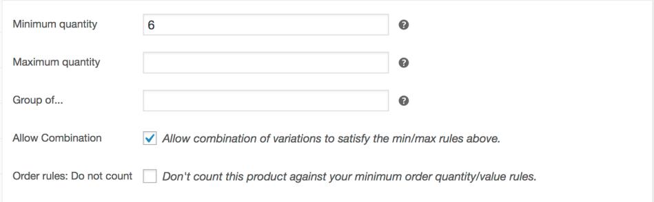 5a45161b2c824 Min Max Quantities - WooCommerce Docs
