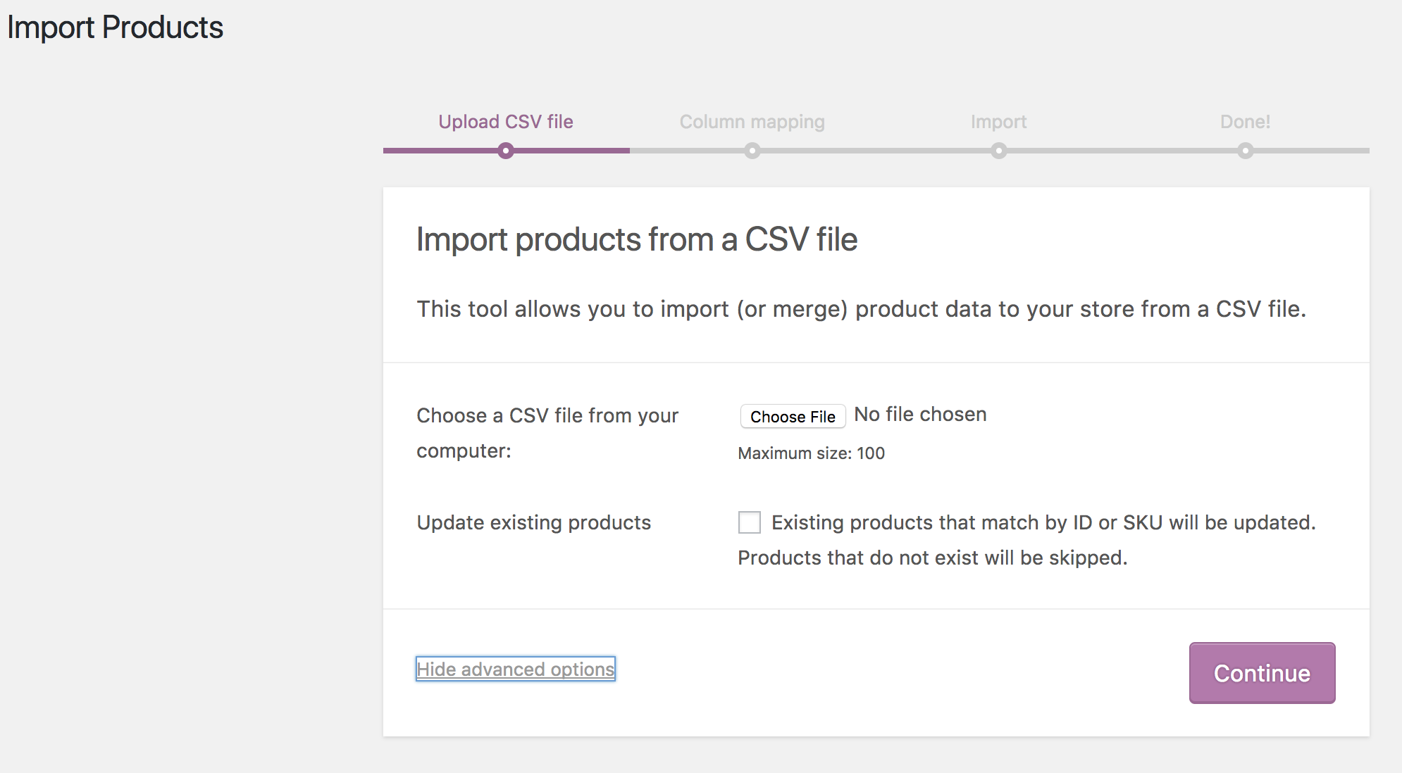Importing WooCommerce Sample Data - WooCommerce Docs