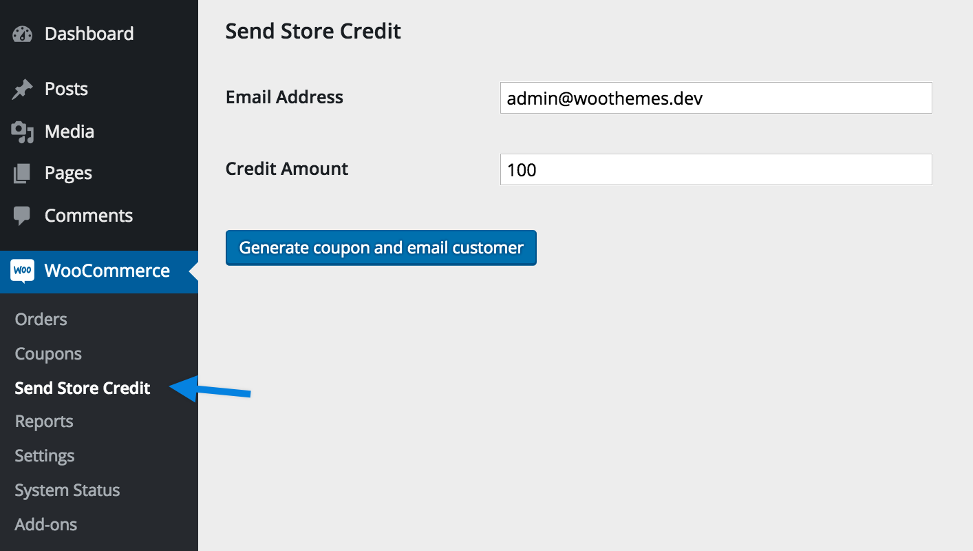sendstorecredit