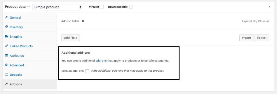 how to add a product to woo commerce