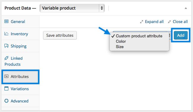 Adicionando Atributos Personalizados ao WooCommerce