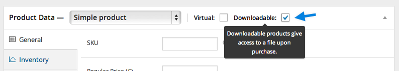 Digital/Downloadable Product Handling - WooCommerce Docs