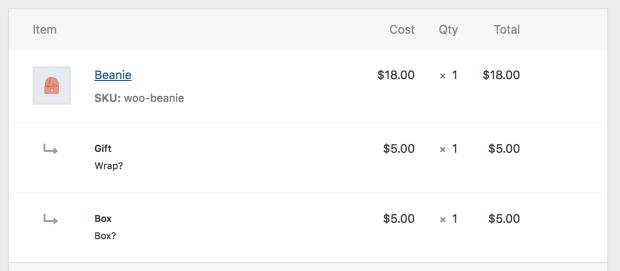 Product Add-Ons - WooCommerce Docs
