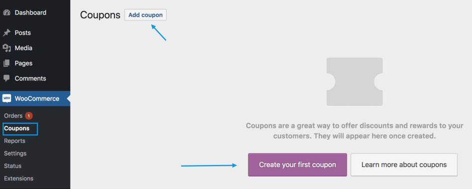 coupon management woocommerce docs