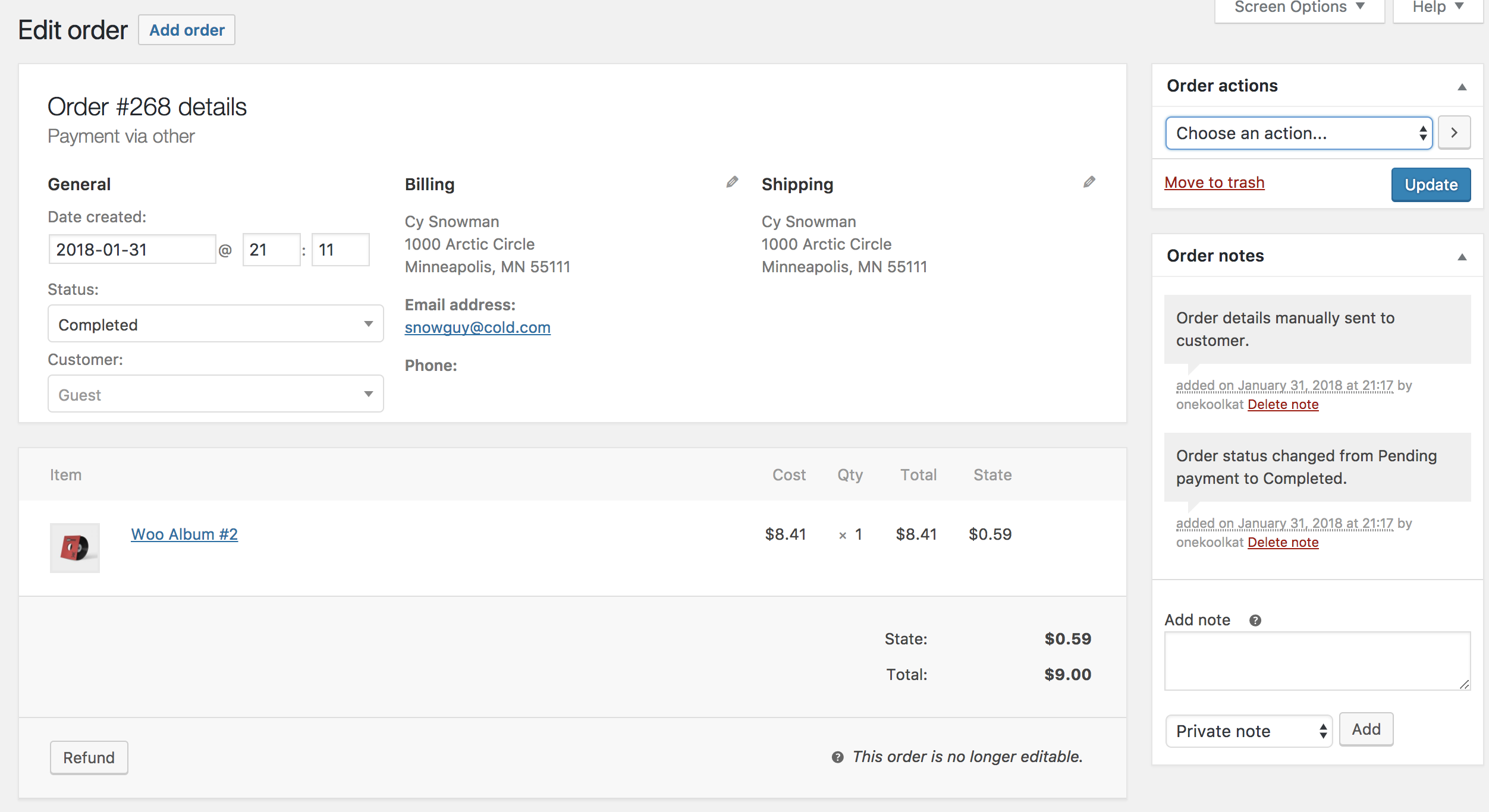 Woocommerce - Docs Single-order-page Docs - Single-order-page Single-order-page Woocommerce