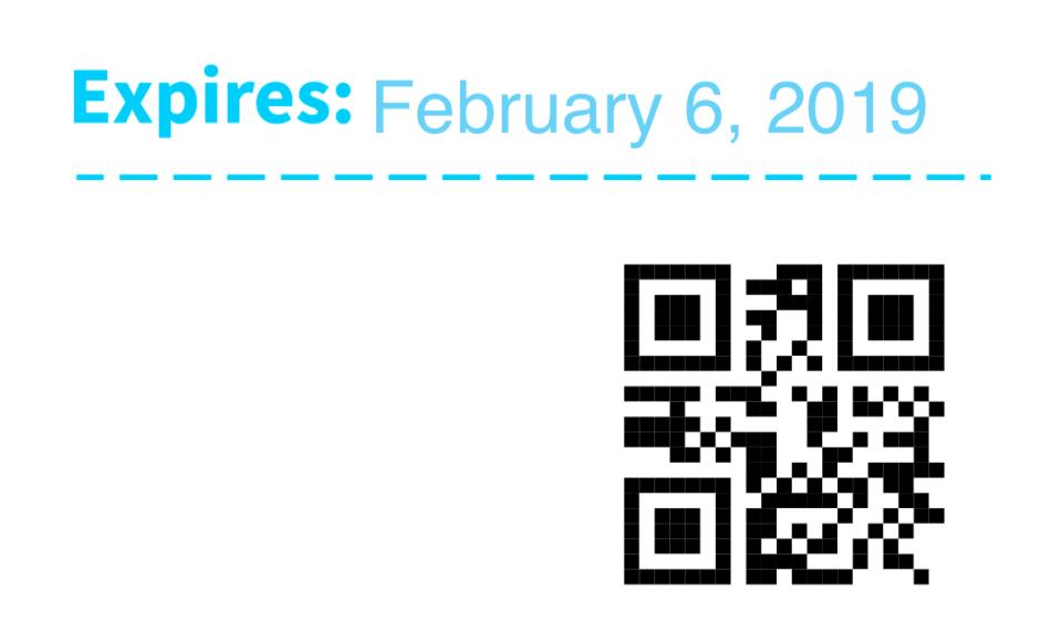 WooCommerce PDF Product Vouchers QR code example