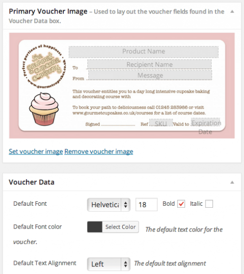 WooCommerce PDF Product Vouchers set voucher image