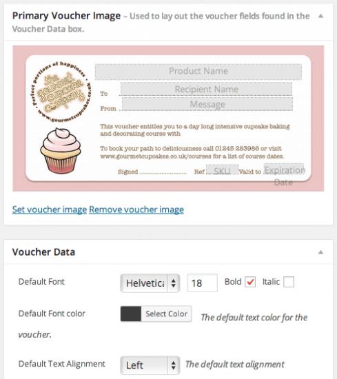 WooCommerce PDF Product Vouchers set voucher image