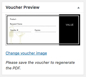 WooCommerce PDF Product Vouchers: image updated