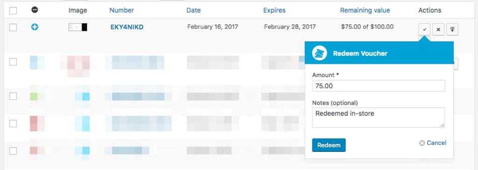 WooCommerce PDF Product Vouchers: Quick Redemption