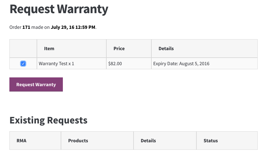 rma request form template - returns and warranty requests rma management