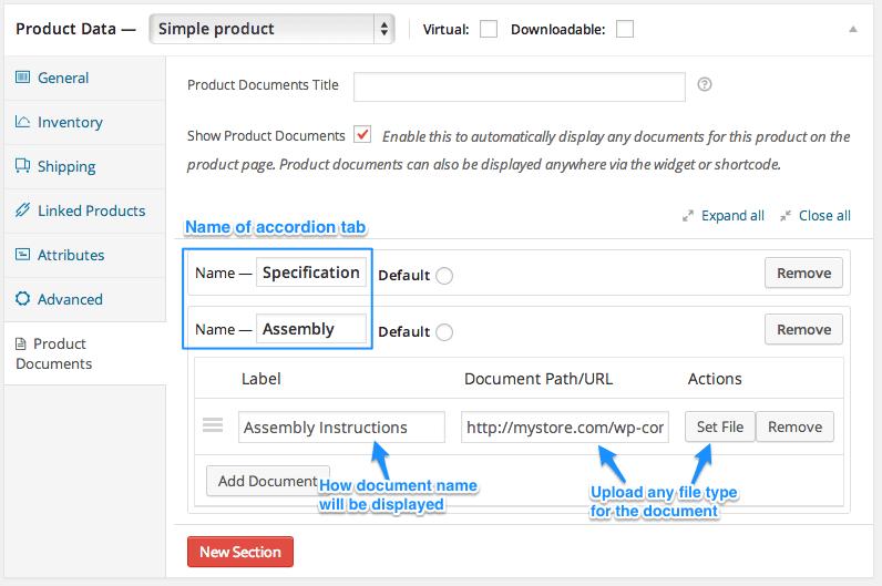 product documents woocommercewoocommerce product documents tab and document addition