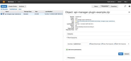 Amazon Web Services Security Credentials Remove File Permissions