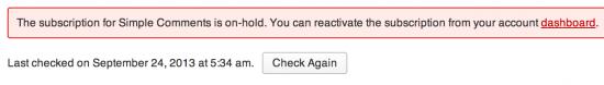 Custom API Error Message