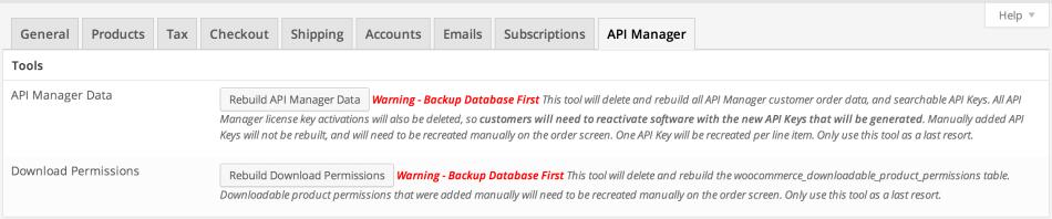 API Manager Tools