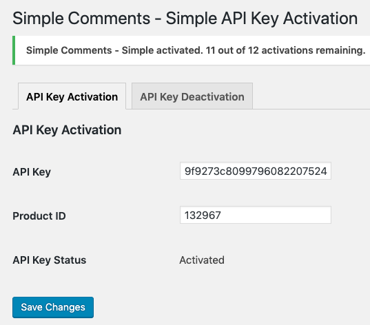 WooCommerce API Manager PHP Library主题插件更新库v4.7.1插图8