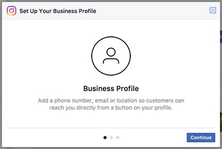 Set up an Instagram Business account