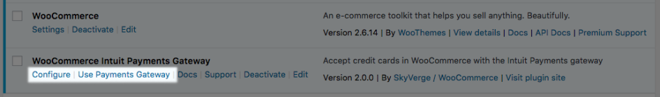 WooCommerce Intuit Payments: Switch to new gateway