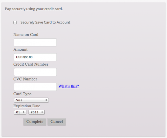 WooCommerce Chase Paymentech Payment Gateway Checkout Experience