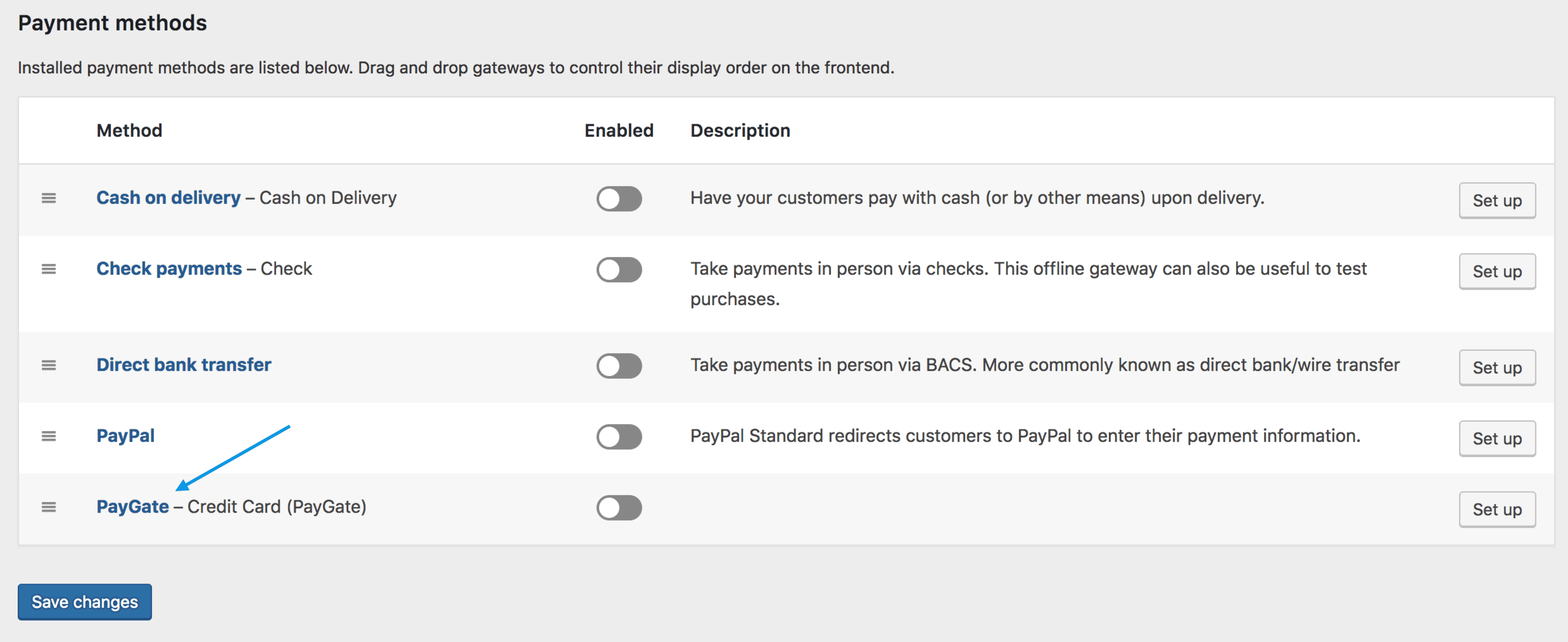 PayGate - WooCommerce Docs