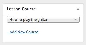 lesson-course