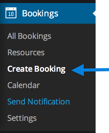 Create Manual Booking