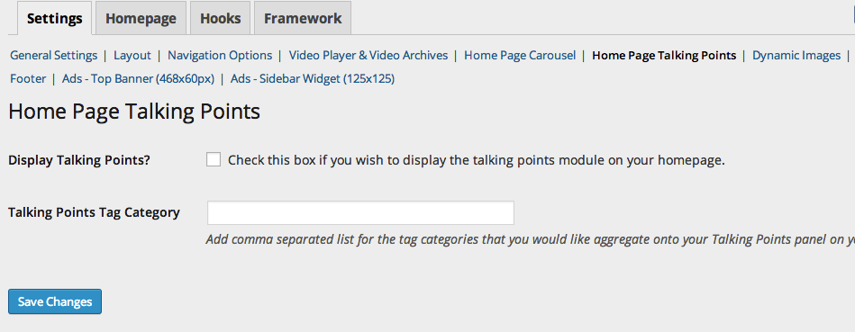 dailyedition_settings_homepage_talking_points
